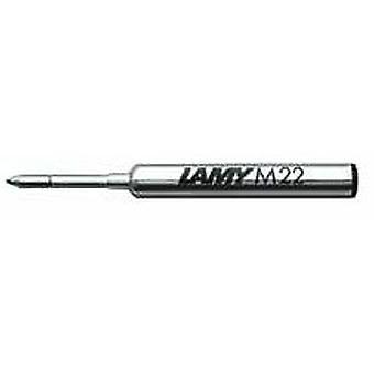 Lamy M 22 Medium Compact Ballpoint Pen Refill - Blue