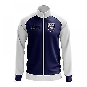 Anguilla Concept Football Track Jacket (Blue) - Kids