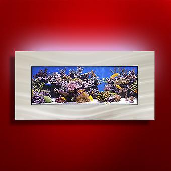 Acuario - horizonte montado en la pared de Aussie acuarios 2.0