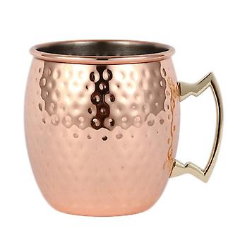 Copper Cup in stainless steel-Silver