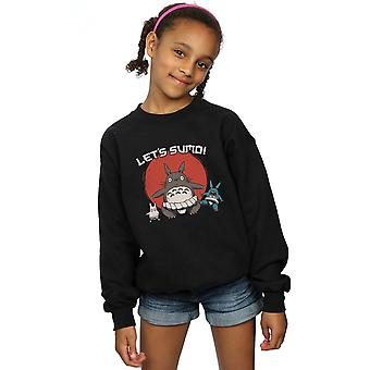 Vincent Trinidad Girls Sumo Neighbours Sweatshirt