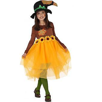 Infantiles disfraces niñas traje de las muchachas de espantapájaros