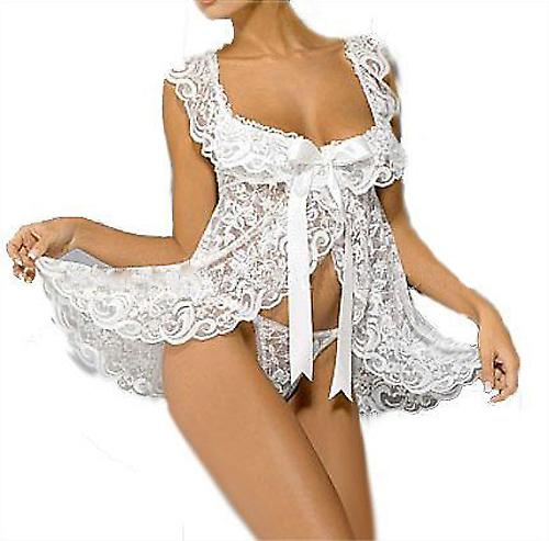 Waooh 69 - Babydoll White Ribbon In
