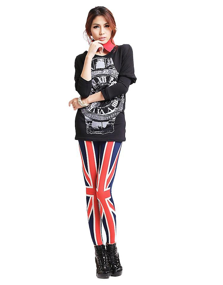Waooh - Fashion - Long Leggings - Printed flag UK