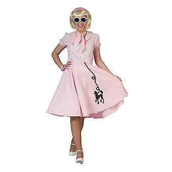 Poodle Dress Pink , UK Size 12-14