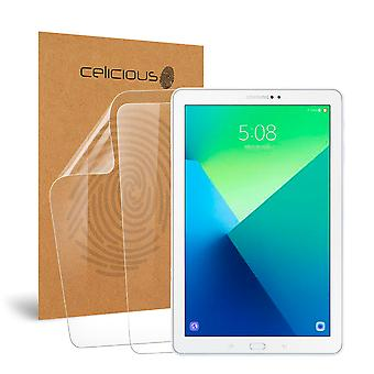 Celicious Vivid Invisible Glossy HD Screen Protector Film Compatible with Samsung Galaxy Tab A 10.1 2016 (SM-P580) [Pack of 2]