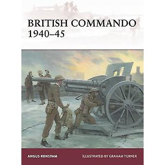 Commando britannico 1940-45 da Angus Konstam - Graham Turner - 978147281