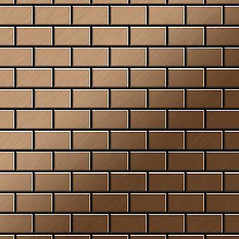 Mosaico de metal sólido Titanio ALLOY House-Ti-AB