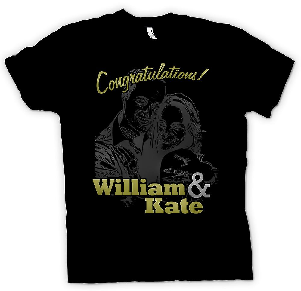 T-shirt-Congratulazioni William e Kate