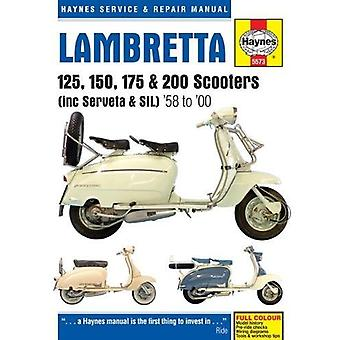 Lambretta Scooters (1958 - 2000) by Phil Mather - 9781785213953 Book
