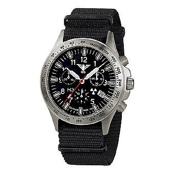 KHS watches mens watch platoon titanium chronograph KHS. PTC.NB