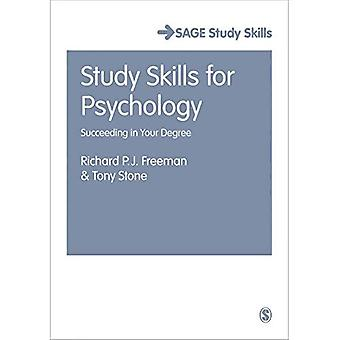 Study Skills for Psychology: Succeeding in Your Degree (Sage Study Skills Series)