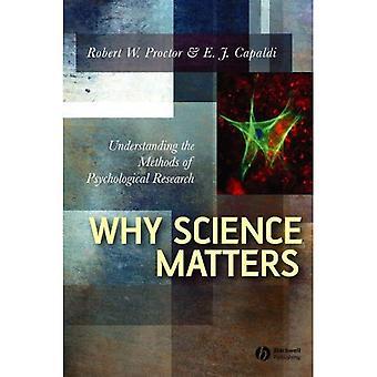 Por que a ciência importante: Compreender os métodos de pesquisa psicológica