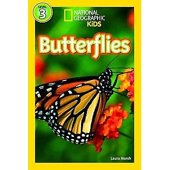 Butterflies (Level3) (National Geographic Kids Readers (Level 3))
