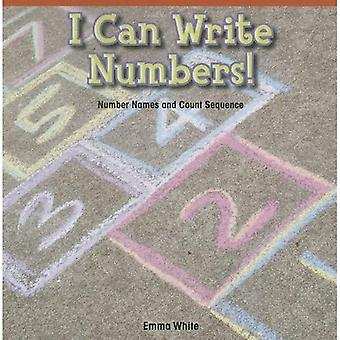 I Can Write Numbers!