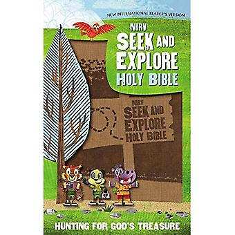 NIRV chercher et explorer la Sainte Bible, simili cuir, Tan: la chasse aux trésor de Dieu