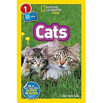 National Geographic Kids Readers: Cats (National Geographic Kids Readers: Level 1 ) (National Geographic Kids Readers: Level 1)