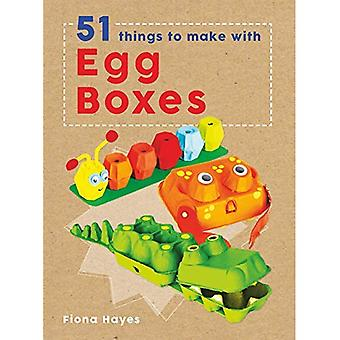 Crafty Makes: 51 Things to� Make with Egg Cartons