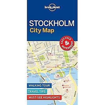 Lonely Planet Stockholm City Map (carte)