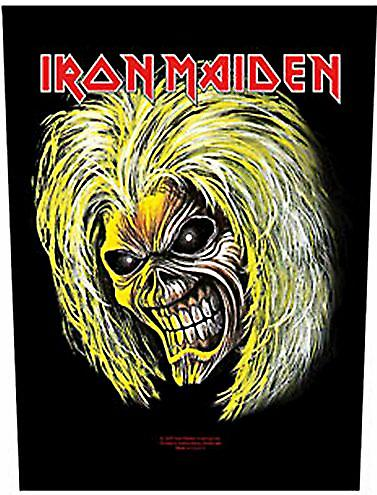 Iron Maiden Killers Head large sew-on back patch  (mm)