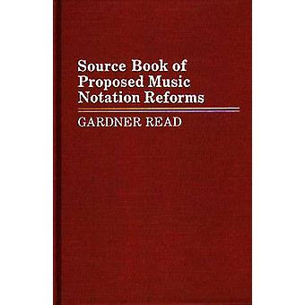 Quellensammlung der vorgeschlagenen Musik Notation Reformen durch lesen & Gardner