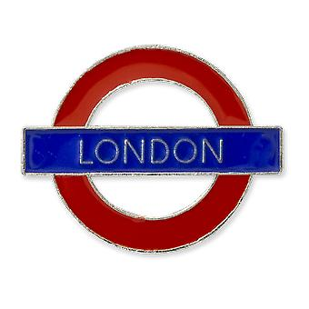London Underground Sign, London , Metal Pin Badge (GWC)