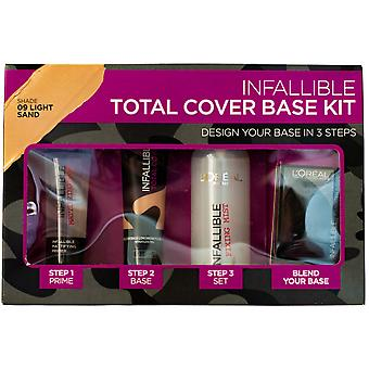 L'Oreal Paris Infallible Total Cover Foundation Base Kit - Various Shades