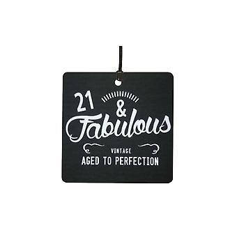21 y fabuloso cumpleaños coche aire ambientador