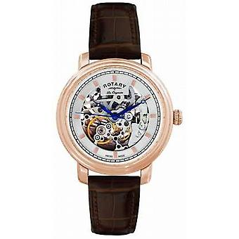 Rotary Gent's Les Originales Brown Leather Strap GS90505/06 Watch