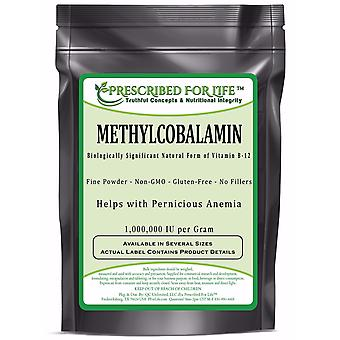 MethylCobalamin - Natural Vitamin B-12 Pure Powder (1,000,000 IU per Gram)