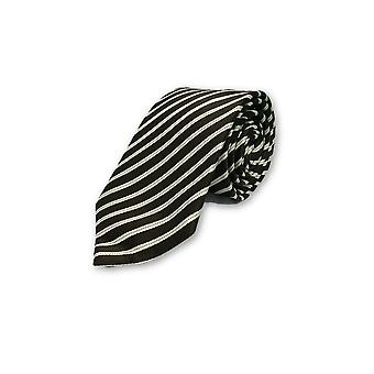 Strellson tie in brown and white st