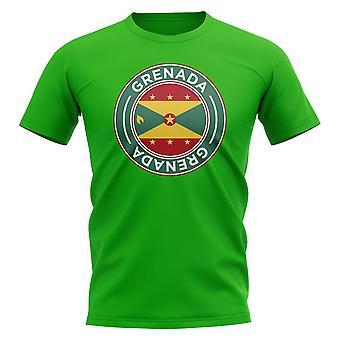 Grenada Football Badge T-shirt (grön)