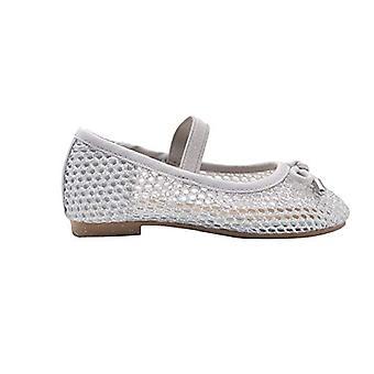 bebe Toddler Girls Ballet Flats Toddler Glitter Mesh Slip On Sandals