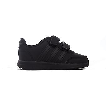 adidas VS Switch 2 Infant Kids Boys Sports Trainer Shoe Black