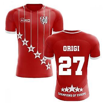 2019-2020 Liverpool 6 Time Champions Concept Football Shirt (Origi 27)
