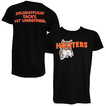 Hooters Logo zwart T-shirt