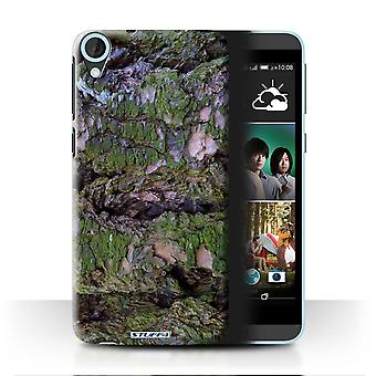 STUFF4 Case/Cover for HTC Desire 820G+ Dual/Moss/Damp/Tree Bark