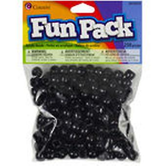 Pony Beads Black Ccpony 34135