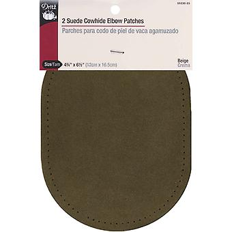 Suede Cowhide Elbow Patches 4 3 4