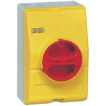 Enclosure + rotary switch (W x H x D) 100 x 150 x 96 mm Blank Yellow, Red BACO BA172399 1 pc(s)