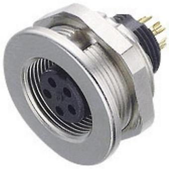 Binder 09-0424-00-07 09-0424-00-07 Sub Miniature Round Plug Connector Series Nominal current: 1 A Number of pins: 7