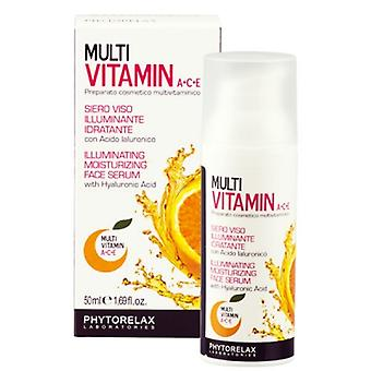 Phytorelax Multi Vitamin A+C+E Illuminating Moisturizing Face Serum