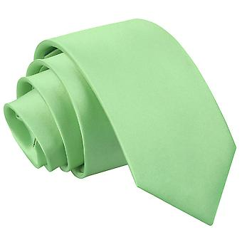 Cravate Slim Satin Plain vert lime