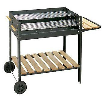 Algon Barbecue Bavaria 56X78 Cm. Double Grill. With Wheels.