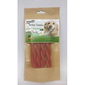 Novopet Boney Twistix Jamon (Cani , Snack , Igiene dentale)