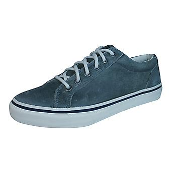 Sperry Striper LTT Leather Mens Leather Trainers / Shoes - Grey