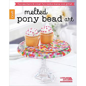 Leisure Arts-Melted Pony Bead Art LA-6617