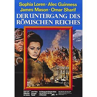 Nedgången av den romerska riket filmaffischen (11 x 17)