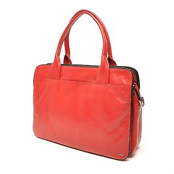 Berba Soft handbag/Businesstas in A4 format 005-964 red/black
