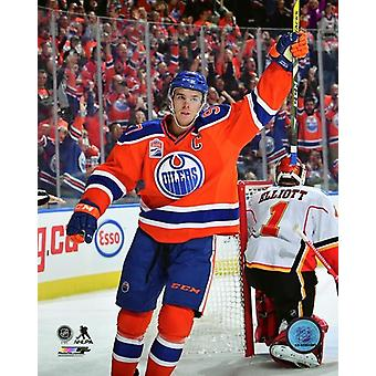 Connor McDavid 2016-17 Action Photo Print